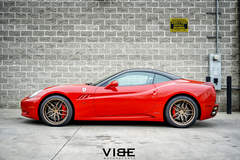 "Ferrari California on 20"" Ferrada F8 FR5 Wheels - Pacific Coast Highway"