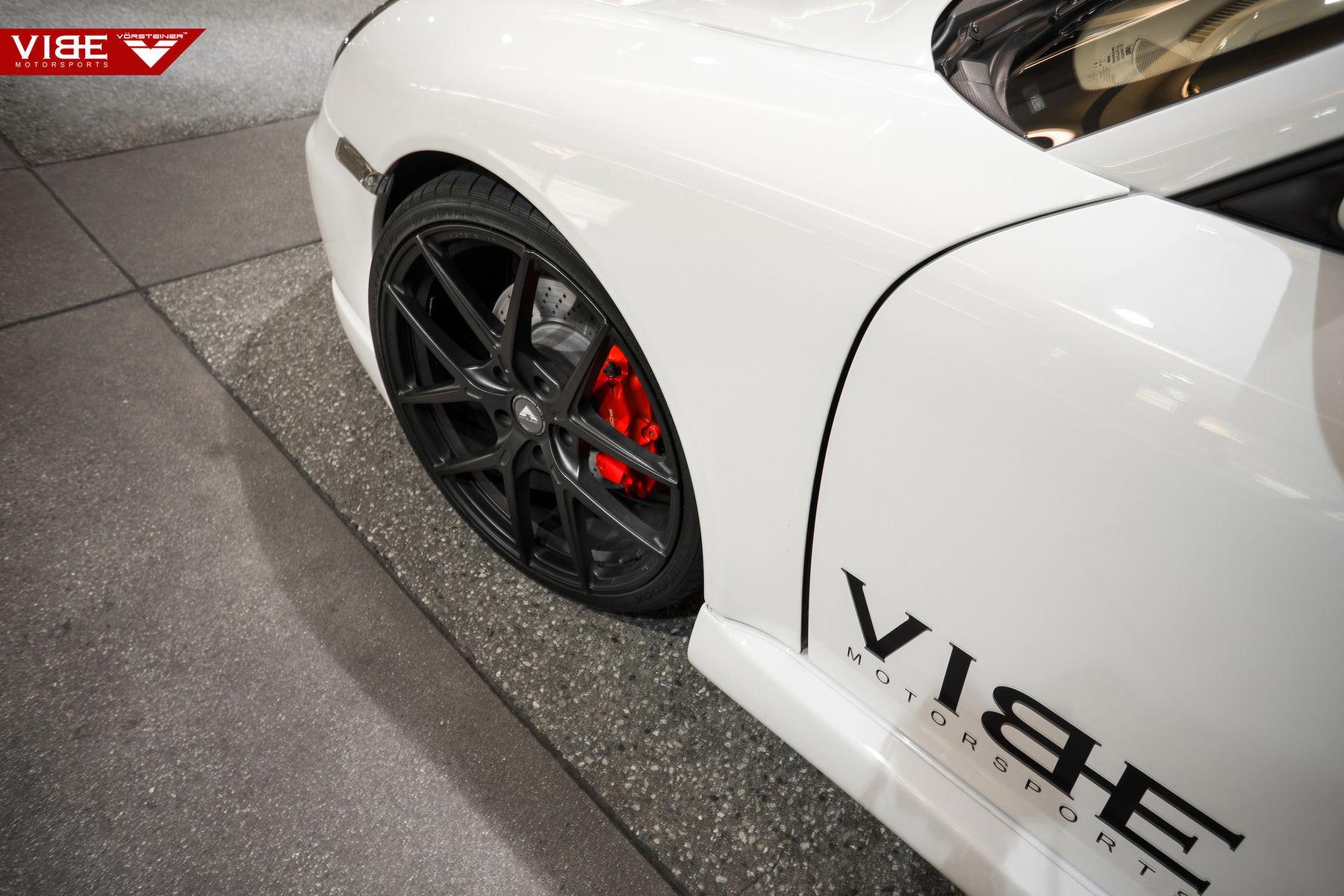 2006 Porsche 997 | Porsche Carrera S on Vorsteiner V-FF 101 Wheels - Team Vibe