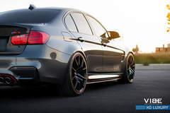 """BMW M3 on 20"""" XO Luxury Wheels - Low Side Shot"""