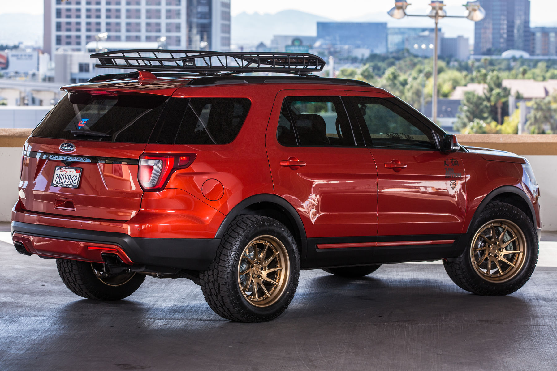 2015 ford explorer sport 2015 all star ford explorer sport rear lifted shot