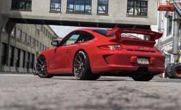 Bolin Wu's Porsche 997 GT3 on Forgeline One Piece Forged Monoblock GA1R Wheels