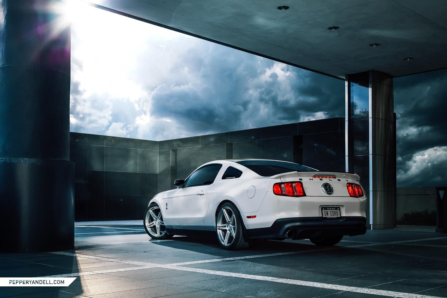 2012 Ford Mustang | Kat Hagen's 2012 Ford Mustang Shelby GT500 on Forgeline One Piece Forged Monoblock SC1 Wheels