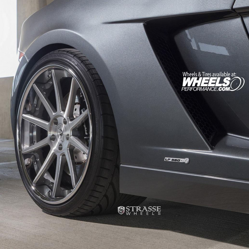 Lamborghini Gallardo   Strasse Forged R10 Deep Concave