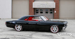 "Roadster Shop""Onyx"" Chevelle on Forgeline RS6 Wheels Named Goodguys Muscle Machine of the Year"