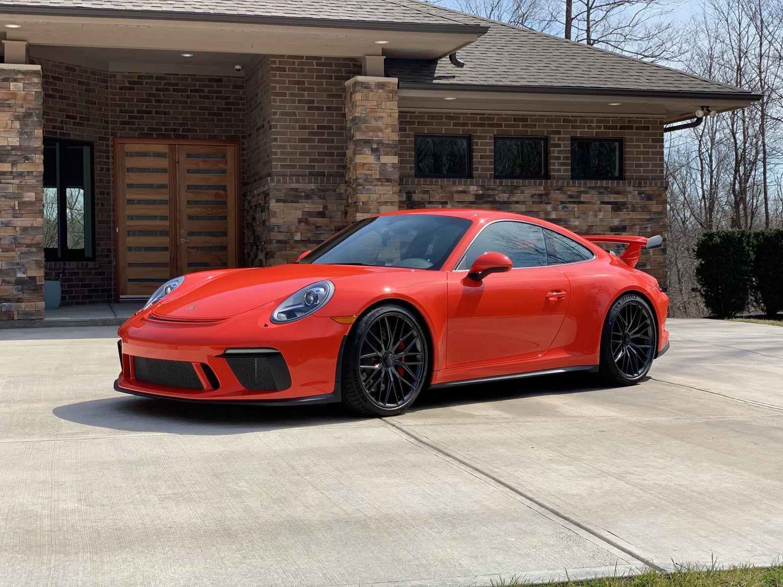 2018 Porsche 911 | Alan Coleman's Lava Orange Porsche 991 GT3 on Forgeline One Piece Forged Monoblock ZH1 Wheels