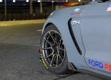 PF Racing's GT4 Ford Mustang GT350R-C on Forgeline One Piece Forged Monoblock GS1R Wheels