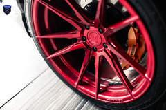 White Nissan GTR - Spokes