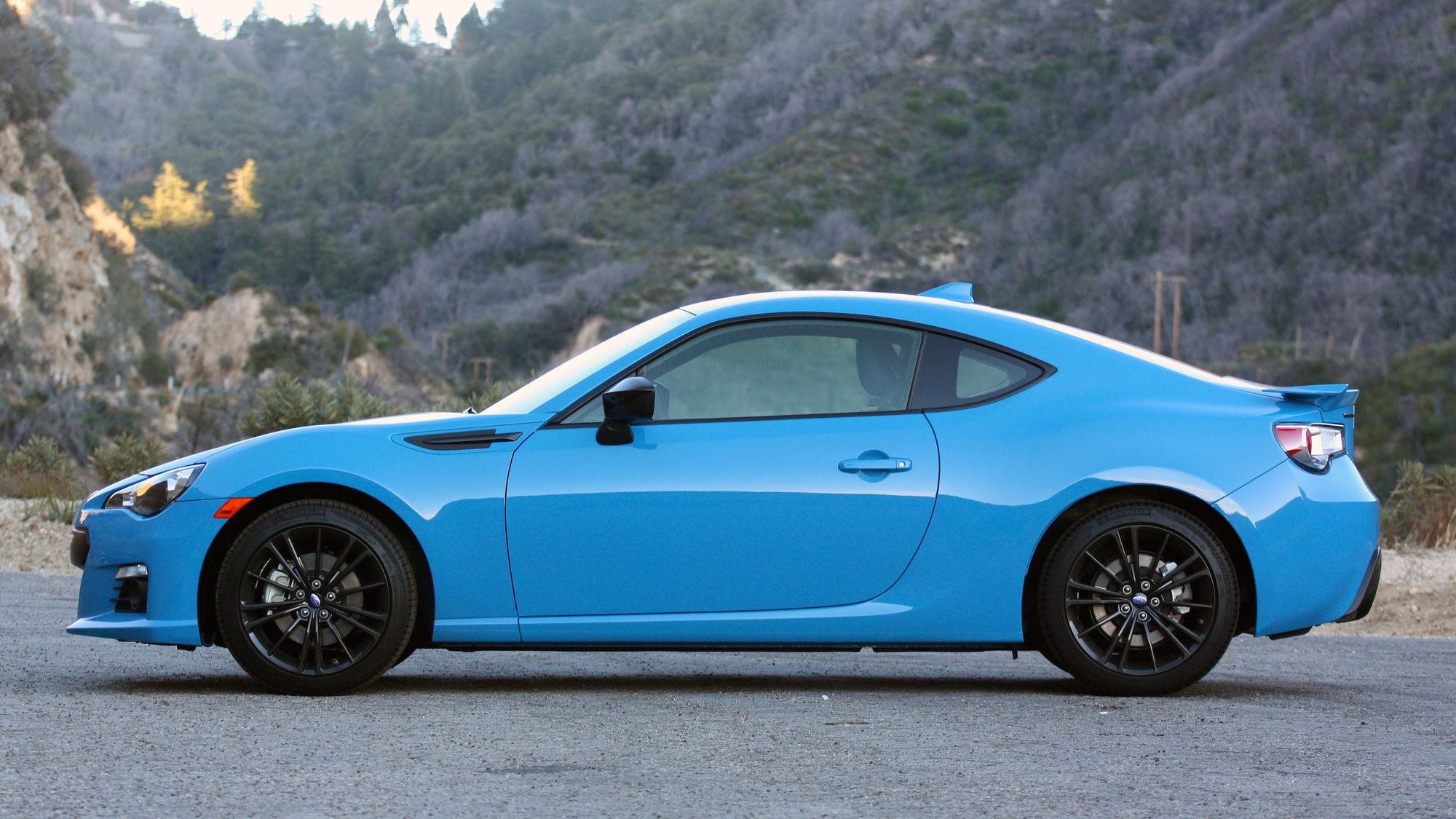 Hyper Blue Brz >> 2016 Subaru Brz Series Hyperblue Quick Spin Autoblog