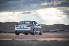 H&R 2017 Audi A4 - Rear