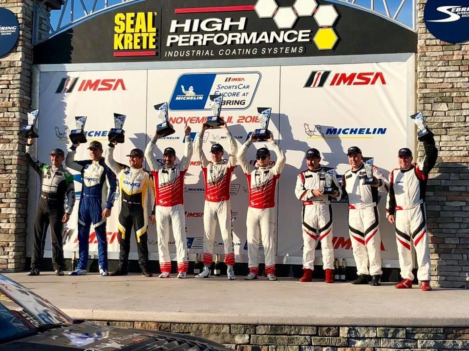 | KohR Motorsports Wins the IMSA Michelin Encore at Sebring on Forgeline One Piece Forged Monoblock GS1R Wheels