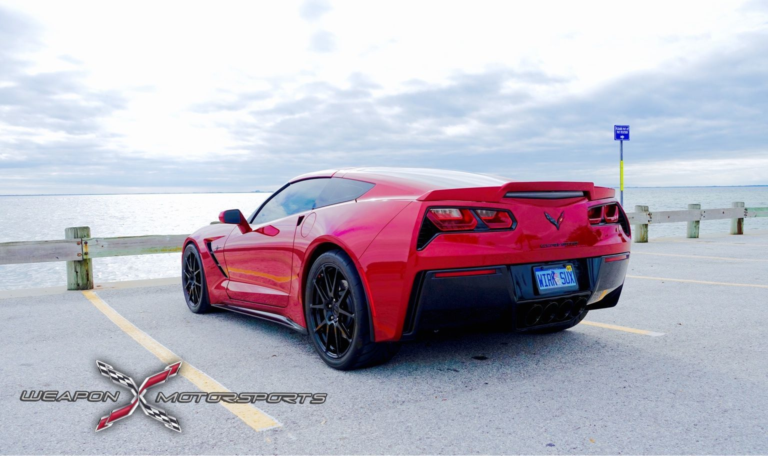 2014 Chevrolet Corvette Stingray | Brian's 600HP C7 Corvette Stingray on Forgeline GA1R Wheels
