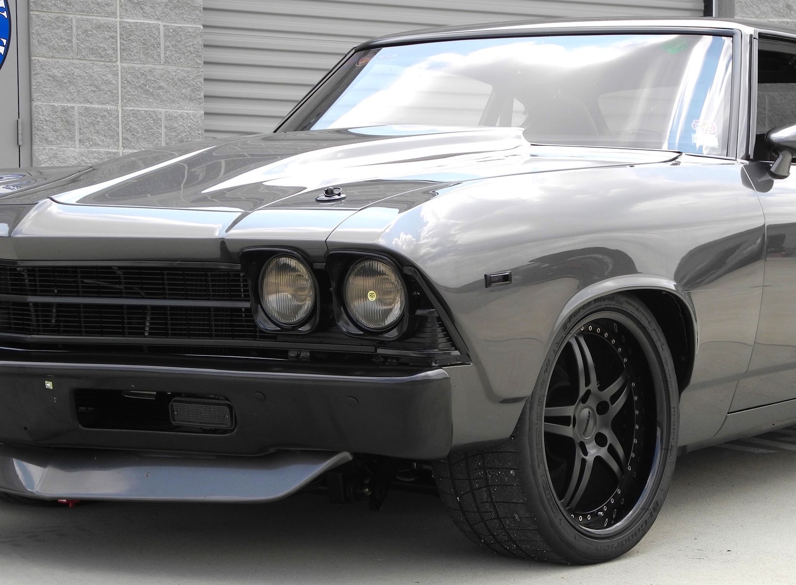 1969 Chevrolet Chevelle | Chevelle on Forgeline SP3P Wheels