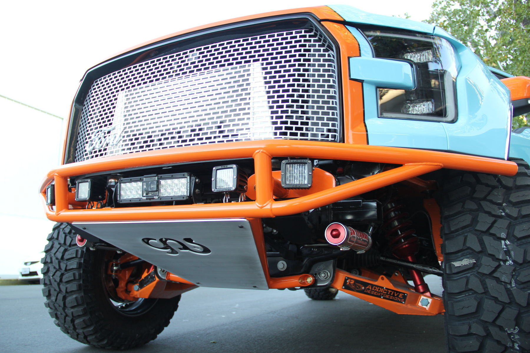 2015 Ford F-150 | 2015 Galpin Auto Sports (GAS) Ford F-150 Grille, Rockplate, and Suspension