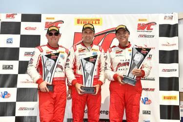 Panoz Scores Big at Pirelli World Challenge Utah