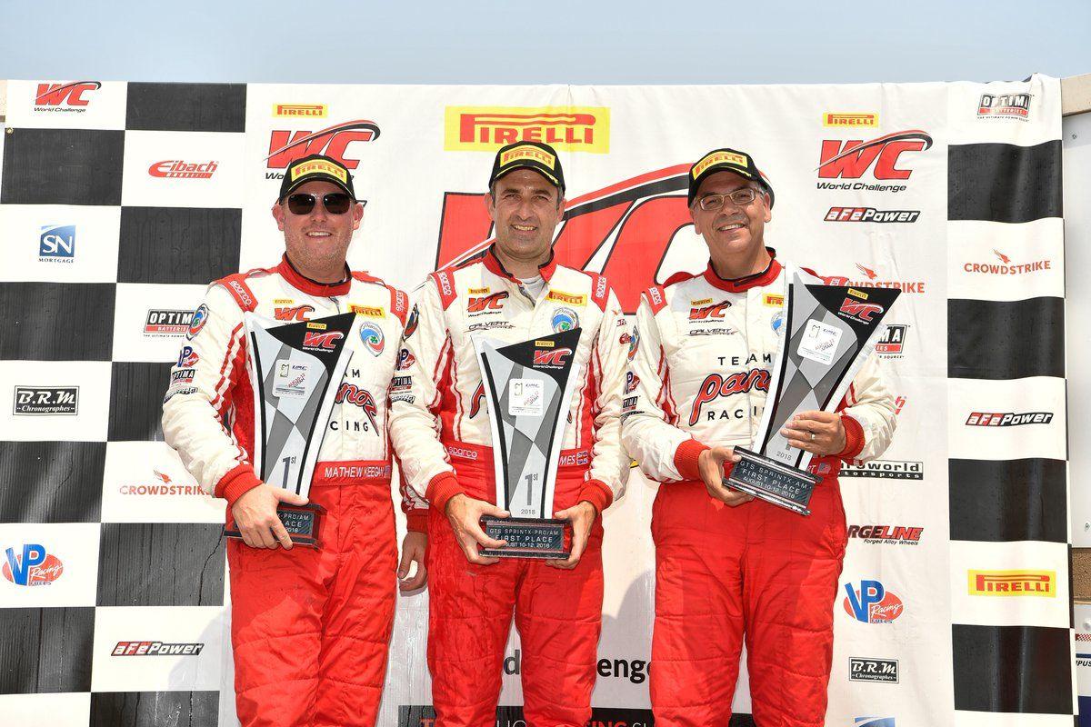 | Panoz Scores Big at Pirelli World Challenge Utah