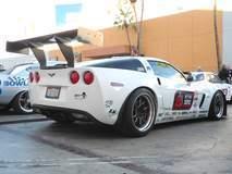 Todd Rumpke's Corvette Z06 on Forgeline GA3R Wheels at the 2014 SEMA Show