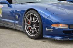 Danny Popp's C5 Corvette Z06 on Forgeline One Piece Forged Monoblock GS1R Wheels