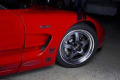 Ryan Mathews' C5 Corvette Z06 on Forgeline GF3 Open Lug Wheels
