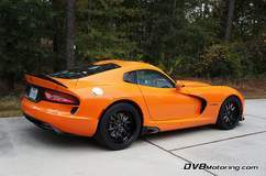 Michael Arthur's 2014 Dodge Viper TA on Forgeline GA3-6 Wheels