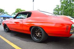 Alan Miller's 1970 Chevelle on Forgeline GZ3R Wheels