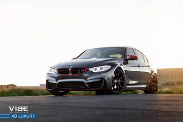 "2016 BMW M3 | BMW M3 on 20"" XO Luxury Wheels - Golden Hour"