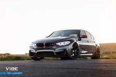 "BMW M3 on 20"" XO Luxury Wheels - Golden Hour"