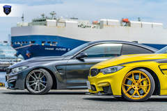 BMW M4 Pair - Silver And Gold