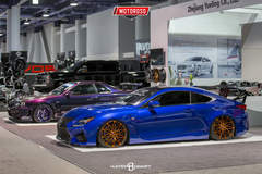 Lexus RC F - SEMA 2016 STR Racing Booth