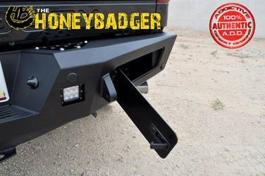 2011- Up Honey Badger Rear W/ Backup Sensor Cutouts