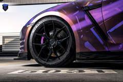 Wrapped Nissan GTR - Wheel Gap
