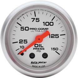 Auto Meter Pro-Comp Oil Pressure Gauge