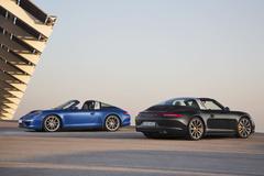 '14 Porsche 911 Targa 4S