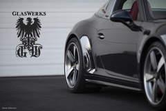GlasWerks Porsche 991 Targa GTS on Center Locking Forgeline FU3C Wheels