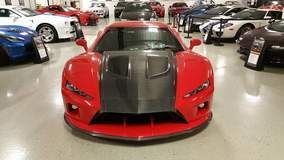 Falcon F7 Supercar on Forgeline SC3C Concave Wheels at Lingenfelter Performance Engineering