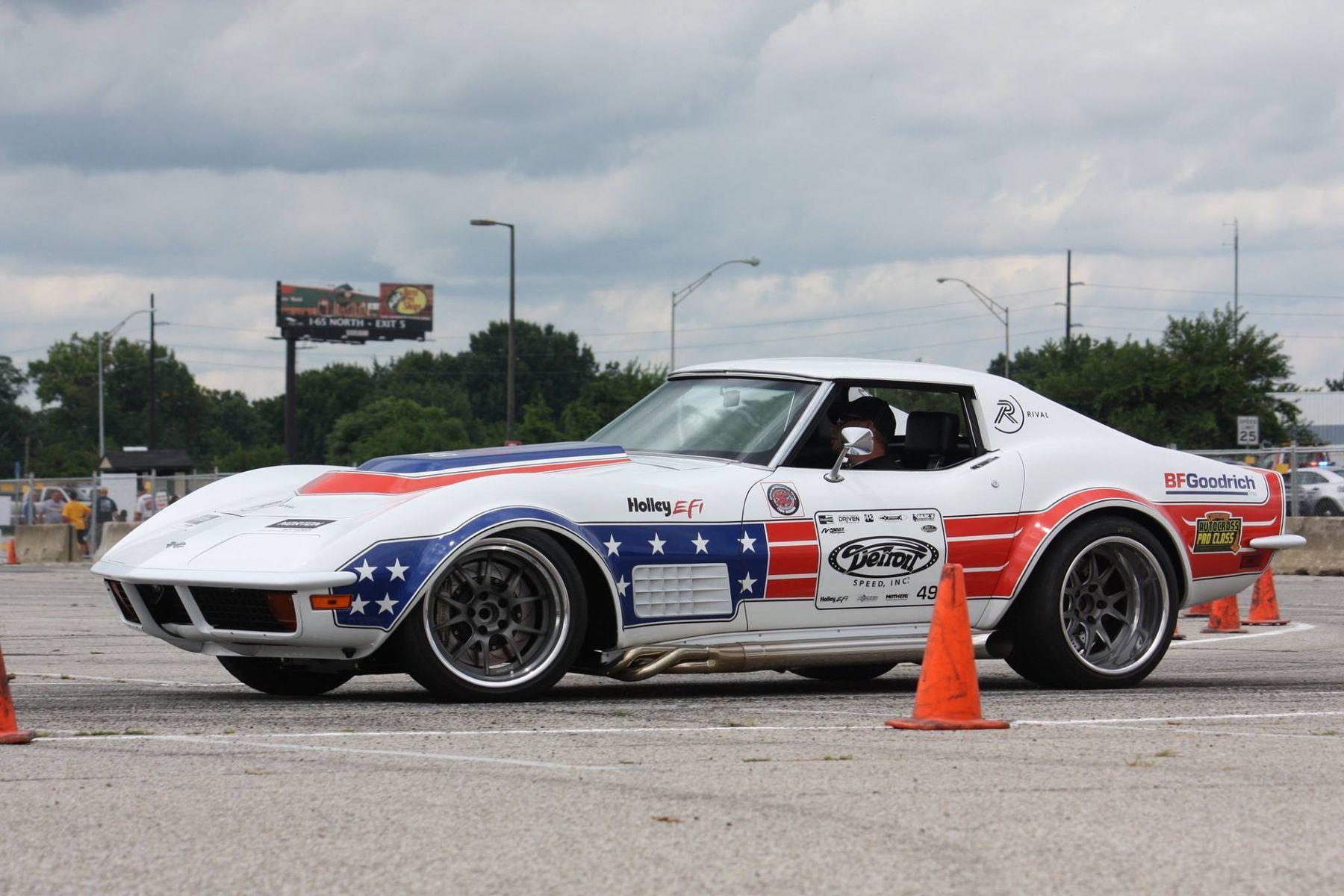 1972 Chevrolet Corvette Stingray | Ryan Mathews Wins NSRA Nationals Autocross in the Detroit Speed C3 Corvette on Forgeline GA3 Wheels