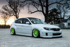 Corey West's Subaru WRX on Forgeline GX3 Wheels