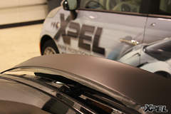 Audi A7 fully wrapped in XPEL STEALTH matte-finish paint protection film
