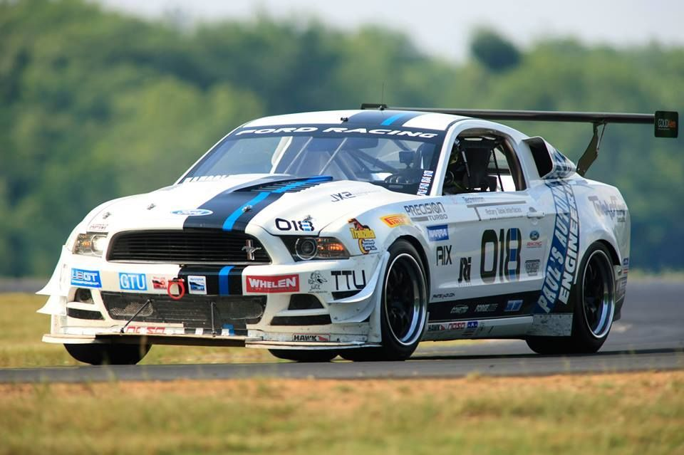 2014 Ford Mustang | Brian Faessler's Turbocharged Boss 302 Mustang GTU-class Racecar on Forgeline GA3R Wheels at VIR