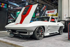 Steve Locklin's 1964 Corvette Stingray on Forgeline One Piece Forged Monoblock GA1R Wheels