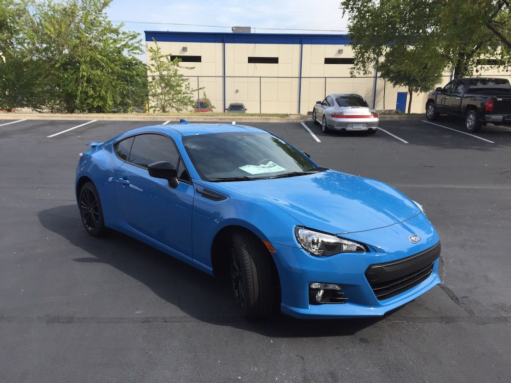 Subaru BRZ | Subaru BRZ with XPEL ULTIMATE
