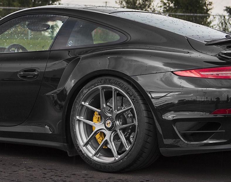 2017 Porsche 911 | Pfaff Tuning's 991 Porsche 911 Turbo on Forgeline One Piece Forged Monoblock VX1R Wheels