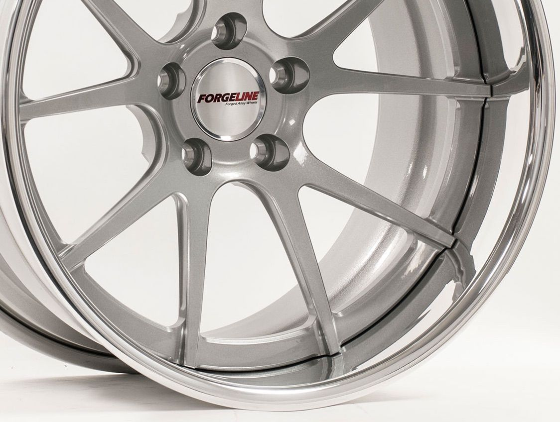 | Forgeline GA3C with Silver Center and Polished Outer