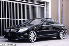 '11 Mercedes Benz CL550 on XO Tokyo's