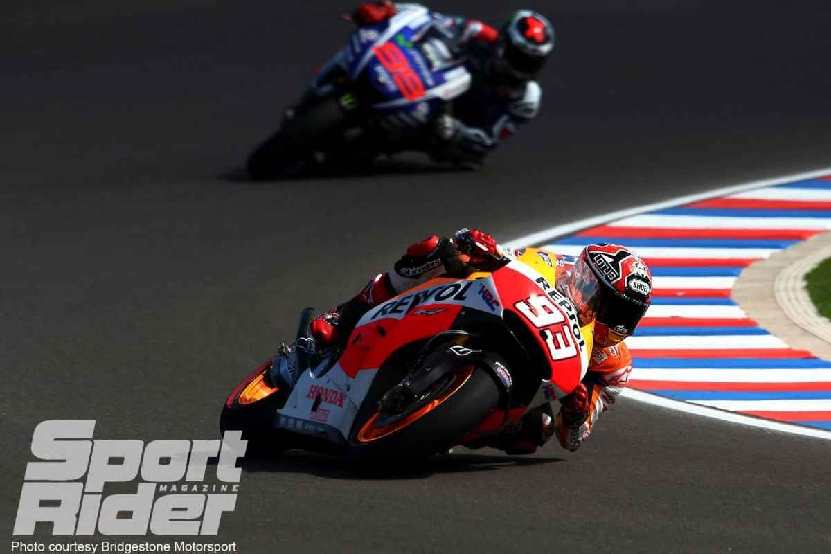 2014   | Marquez makes it a hat trick in Argentina