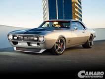 "Larry Callahan's 1968 Twin Turbo ""MotiV8r"" Camaro on Forgeline SO3P Wheels"