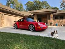 Dave's Porsche 964 Turbo on Forgeline GF3 Wheels