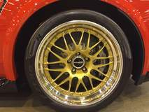 Big Red Edition Camaro Z/28 on Forgeline GX3R Wheels at Mecum Auction Houston