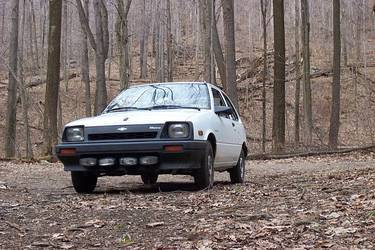 Chevy Sprint Metro, Out Of It's Native Habitat