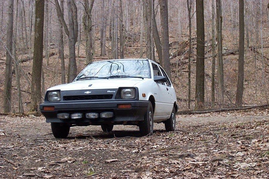 Suzuki Swift | Chevy Sprint Metro, Out Of It's Native Habitat