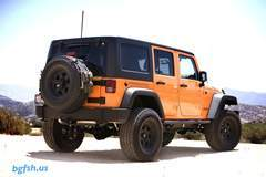 Supercharged Jeep